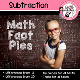 Math Facts Fluency Practice for Subtraction