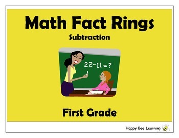 Subtraction Math Fact Rings