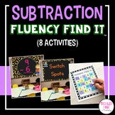 Subtraction Math Facts Fluency Find It®