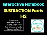 Subtraction Math Facts Interactive Notebook