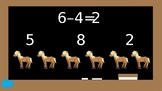 Interactive Subtraction Math Game