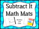 Subtraction Math Mats