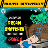 Subtraction Review Math Mystery Activity - Subtracting within 100