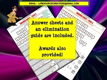 Subtraction Review Math Mystery: Subtracting Decimals, Fractions + Word Problems