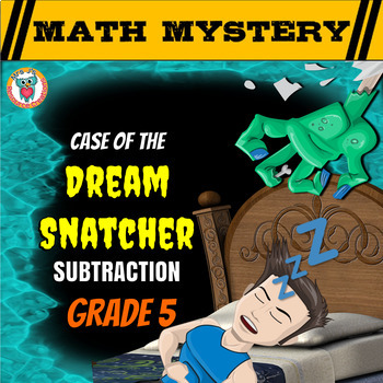 Subtraction Review Math Mystery: Subtracting Decimals, Fra