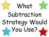 Subtraction Math Strategies Posters
