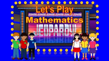 Subtraction Mathematics Jeopardy
