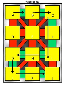 Subtraction Maze