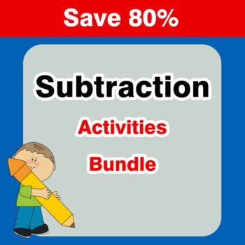 Subtraction {Mega Bundle}