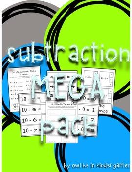 Subtraction Mega Pack