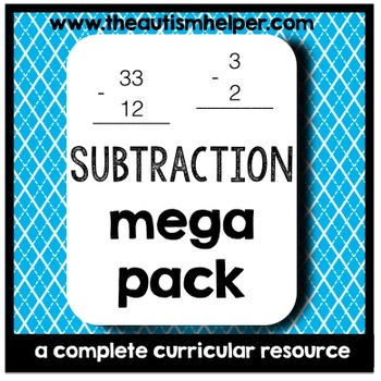 Subtraction Mega Pack {a complete curricular resource}