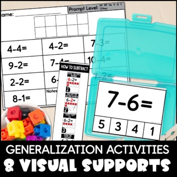Subtraction within 10 Mega Pack for Special Education