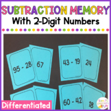 Subtraction Memory with 2-Digit Numbers - With and Without Regrouping
