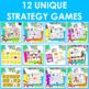 Math Fact Fluency Subtraction Games - Super Hero Theme