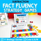 Math Fact Fluency Subtraction Games | Super Hero Theme