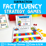 Math Fact Fluency Subtraction Games | Super Hero Theme