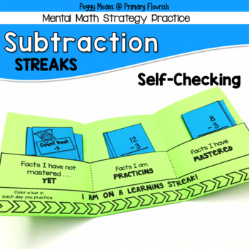 Subtraction Mental Math Strategy Practice Booklets