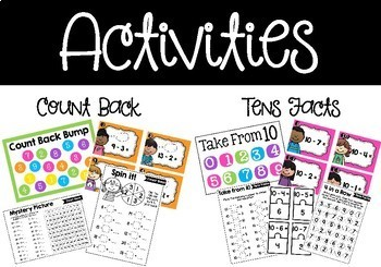 Subtraction Strategies - Posters, Games, Activities & Worksheets
