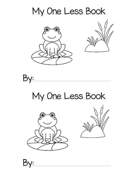 Subtraction Mini Book: My One Less Book