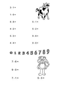 Subtraction Mini pack