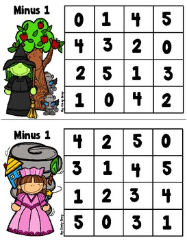 Subtraction Minus 1 - We're Off To See The Wizard
