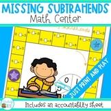 Subtraction - Missing Subtrahends