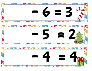 Subtraction Missing number