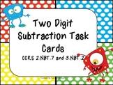 Subtraction Monster Task Cards