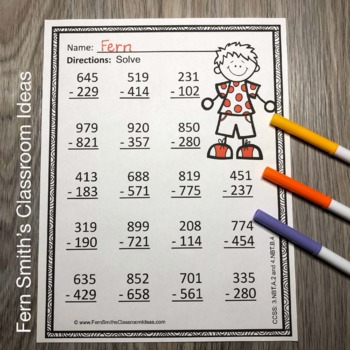 Original on color by number pre k free worksheets and printables