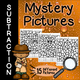 Subtraction Mystery Pictures