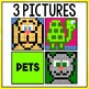 Mystery Pictures Pets - Subtraction Facts