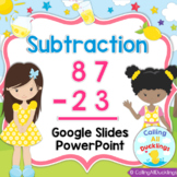 Double Digit Subtraction No Regrouping Smartboard and PowerPoint