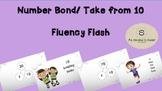 Subtraction/ Number Bond Fluency Flash