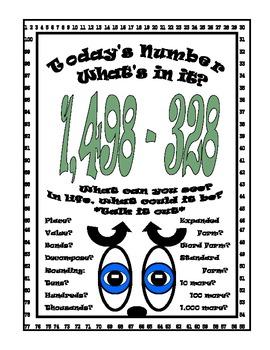 Subtraction Number Sense