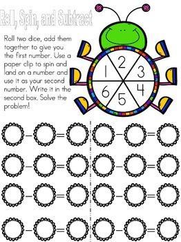 Subtraction Number Sense Games