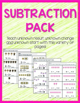 Subtraction Pack