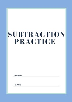 Subtraction Package (Up to 40)