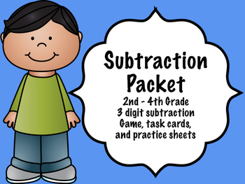 Subtraction Packet