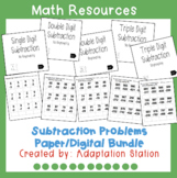 Subtraction Paper Based/Digital Pack (Boom Learning Included)