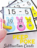 Subtraction Peep Poke