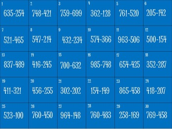 Subtraction Penguin Game