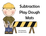 Subtraction Playdough Mats