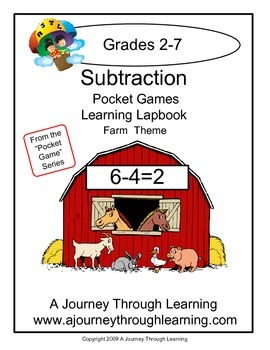 Subtraction Pocket Games