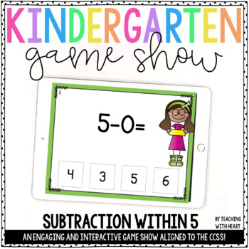 Subtraction PowerPoints {Within 5}
