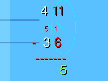 Subtraction Powerpoint with Regrouping