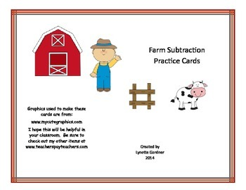 Subtraction Practice I
