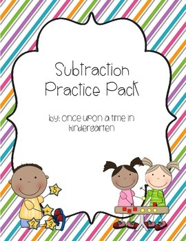 Subtraction Practice Pack