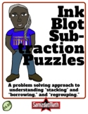 Subtraction Practice Using Inkblot Challenges: L@@K!