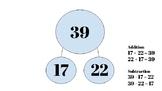 Subtraction Practice Using Number Bonds, Decomposition, an