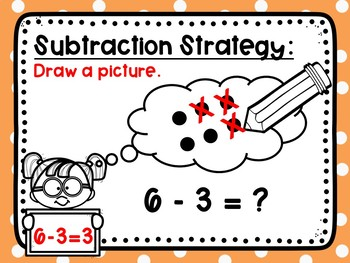 Subtraction Practice Within 10: Drawing Pictures Strategy